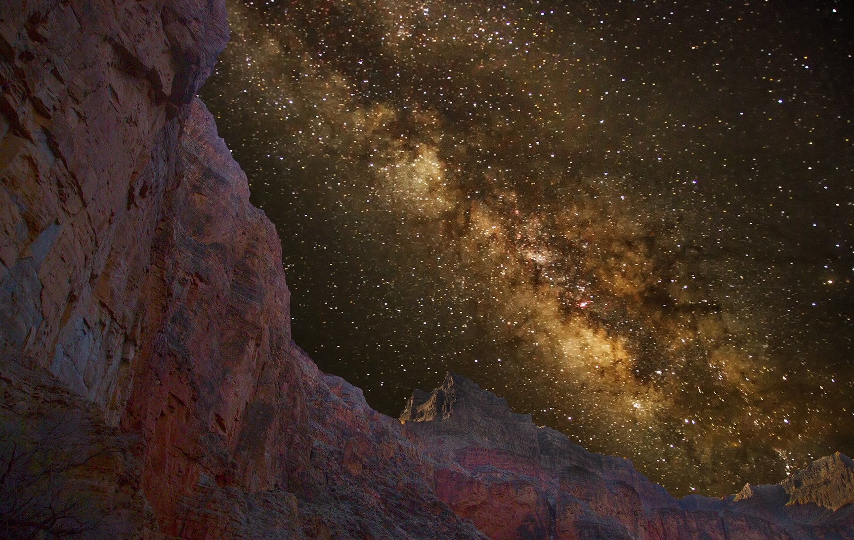 Mike Adler - Grand Canyon Milky Way